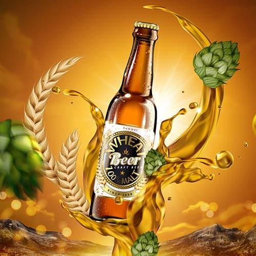 stampa etichette adesive birra