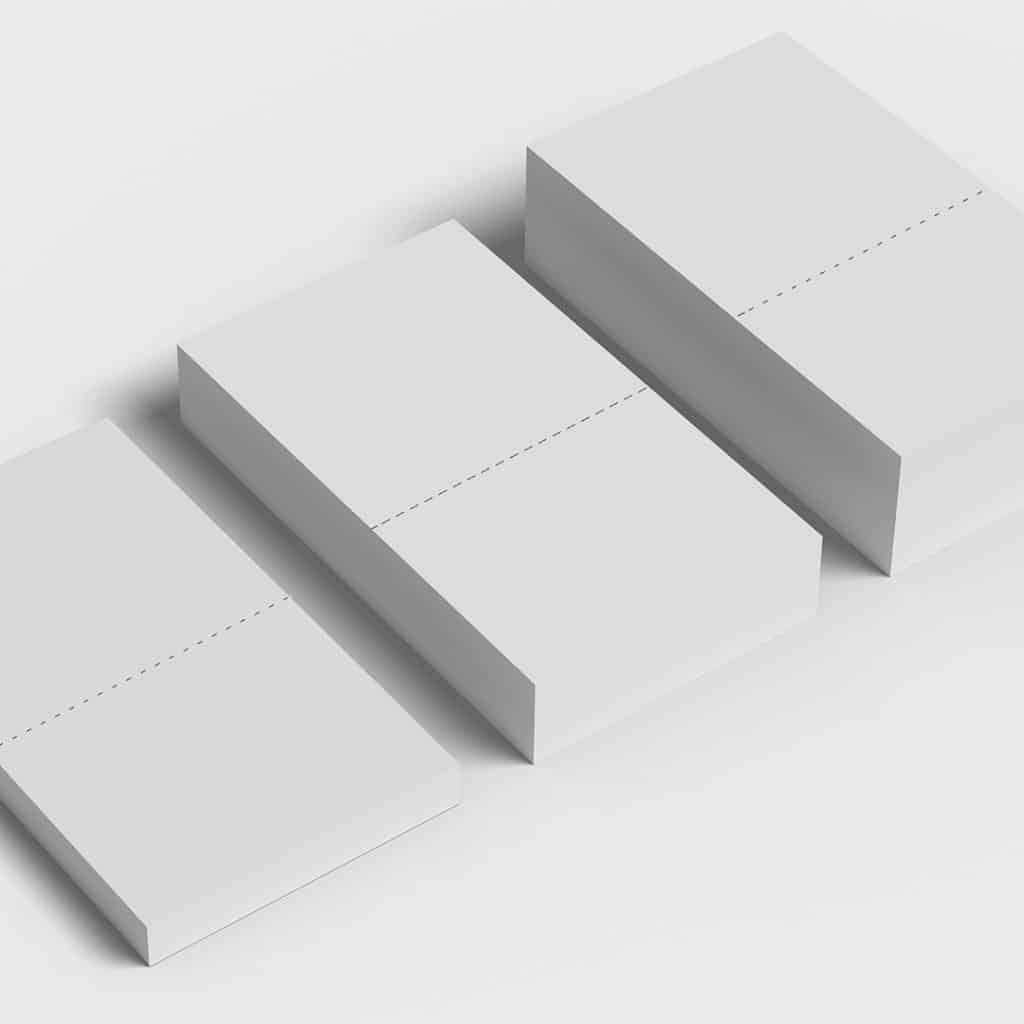 Piccolo formato - Fogli perforati a metà - Piccolo Formato
